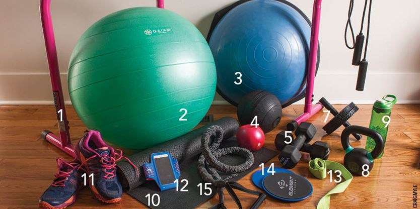 The Diy Gym Work Out Like A Pro No Membership Required