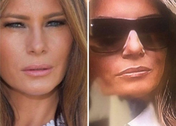 Cars 1 Full Movie >> Does Melania Trump have a 'body double?' Twitter goes ...