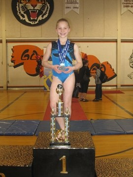 Gymnast claims all-around gold at Eastern Canadians