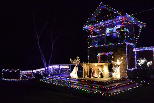 is this the best decorated house for christmas in north simcoe - Best Christmas Decorated Houses