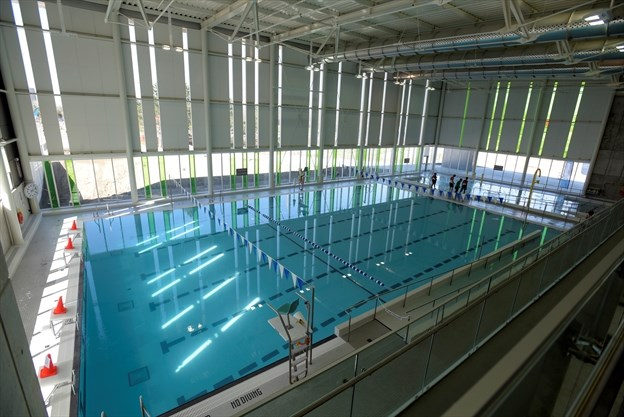 Community celebrates official opening of york recreation centre for Community center toronto swimming pool