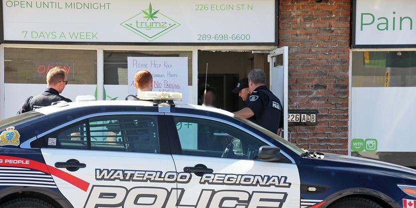 Police raid illegal cannabis dispensary in Cambridge