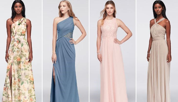 Maid Of Honour And Bridesmaid Dresses