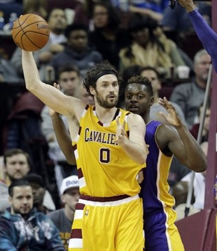 Ho Wun Lakers Vs Cavaliers >> Wednesday S Nba Roundup Love Hurts Shoulder In Cavs Victory