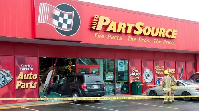 SUV crashes into Oshawa auto parts store | DurhamRegion.com on car parts accessories, le chateau stores, car parts catalog, car parts warehouse locations, haggen stores, car parts brands, kwik trip stores, western auto stores, car auto parts, car cleaning, car parts search, car parts showrooms, car parts company, car parts production, white front stores, car parts toys, cumberland farms stores, car parts online, car rental, car parts gifts,