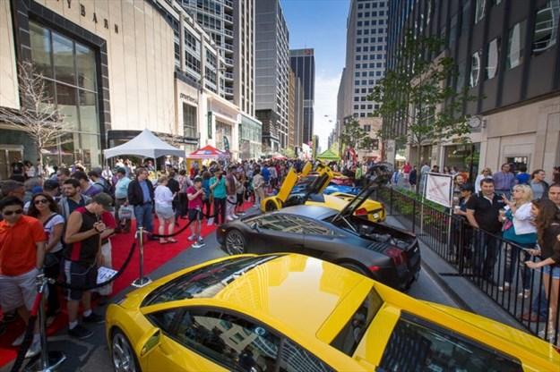 Yorkville Exotic Car Show On June Torontocom - Exotic car show near me