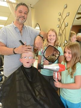 Nobleton hair salon donates 100 haircuts for back-to-school