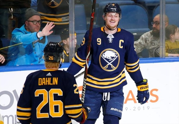 reputable site 14a81 8b0a8 Sabres captain Eichel disagrees with NHL's two-game ...