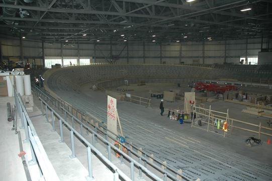 Jakarta International Stadium Image: Milton Velodrome Track Impresses Visitors To Site