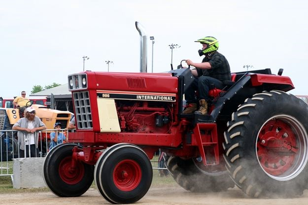 Results of the 2019 Palmerston Tractor Pull