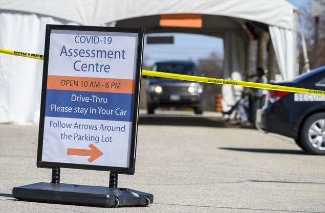 Osler Health Opens Etobicoke Drive Thru Covid 19 Assessment Centre Toronto Com