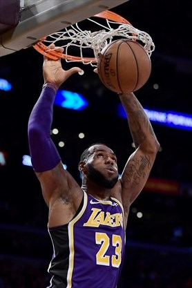 LeBron overwhelmed after passing Jordan on NBA scoring list ... 7581296db