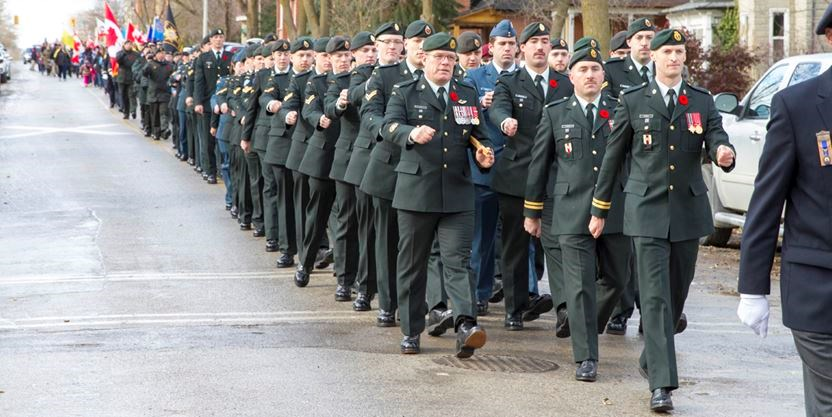 Opinion   Why Canadians pay little attention to their military   Simcoe
