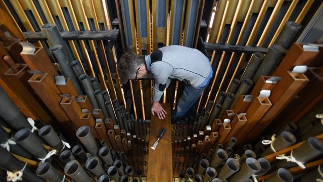 Pipe organ refurbishing business a labour of love | TheRecord