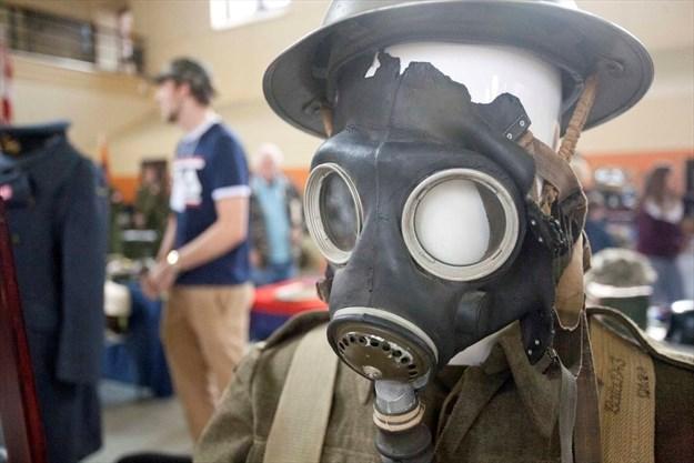 Military memorabilia showcased at cadets fundraiser