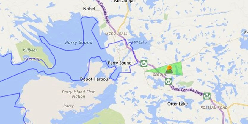Power Outages In Parry Sound December 14 Parrysound Com