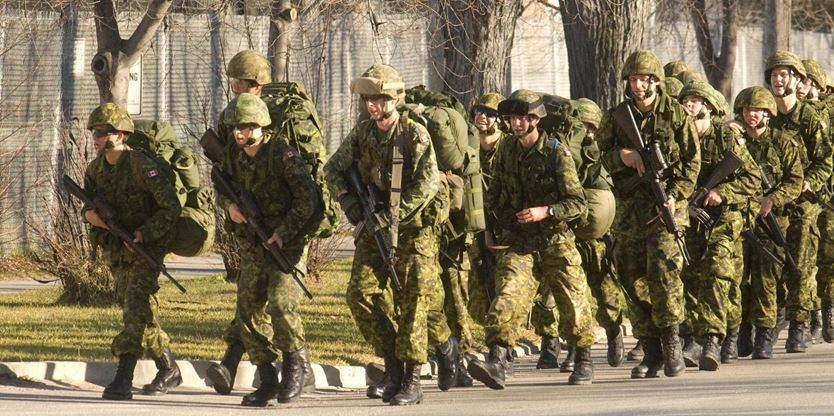 canadian armed forces reserve