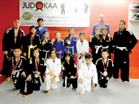 Judokaa medals