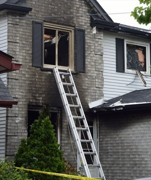 No one hurt in serious Saturday morning house fire   GuelphMercury