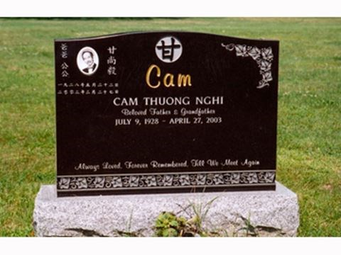 How Much Does A Granite Monument Gravestone Or