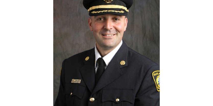 Burlington Fire Chief Tony Bavota leaving for deputy role in