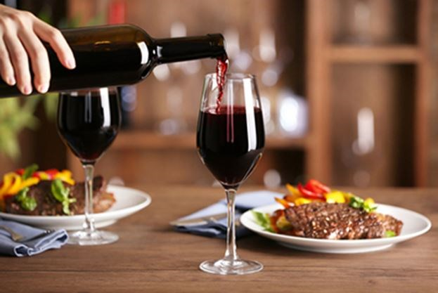 Image result for food and wine