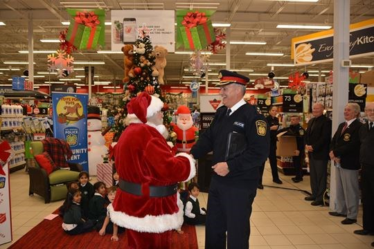 Police Toys For Tots 2017 : Police return with toys for tots mississauga
