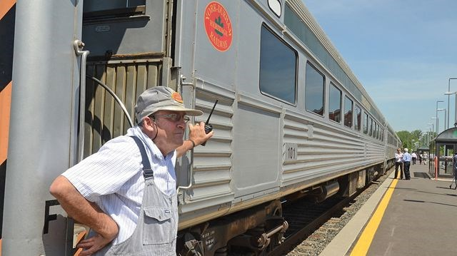 Heritage Train Adds Modern Luxuries To Stouffville Run