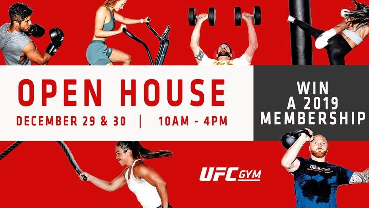 Ufc gym year-end open house on December 29,2018 | Toronto com