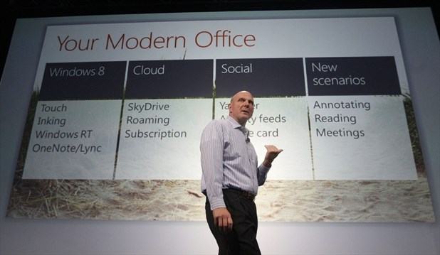 Microsoft Shows Off Redesign Of Lucrative Office Franchise