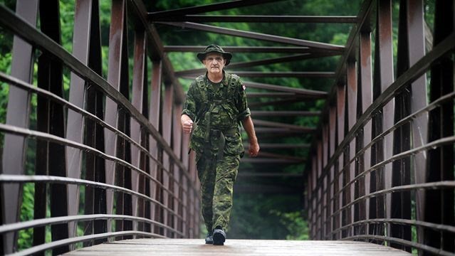 Mississauga East Cooksville Mp Wladyslaw Lizon Was On The Culham Trail At 430 A M Friday Morning Training For The Vierdaagse March July 16 19