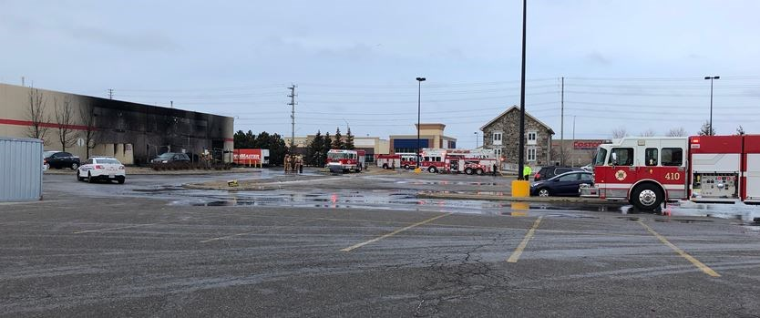 Suspicious fire at Ajax Canadian Tire outlet | DurhamRegion