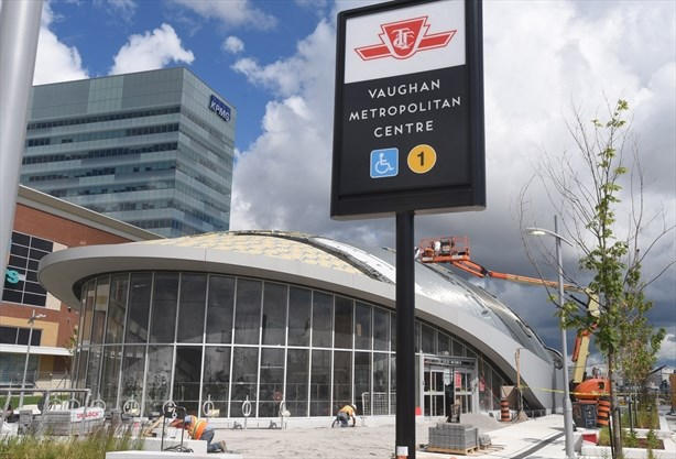 Image result for vaughan ttc station