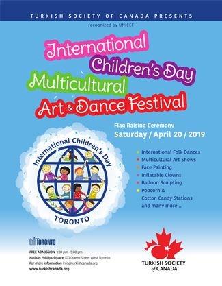 International Children's Day Multicultural Dance and Art Festival on