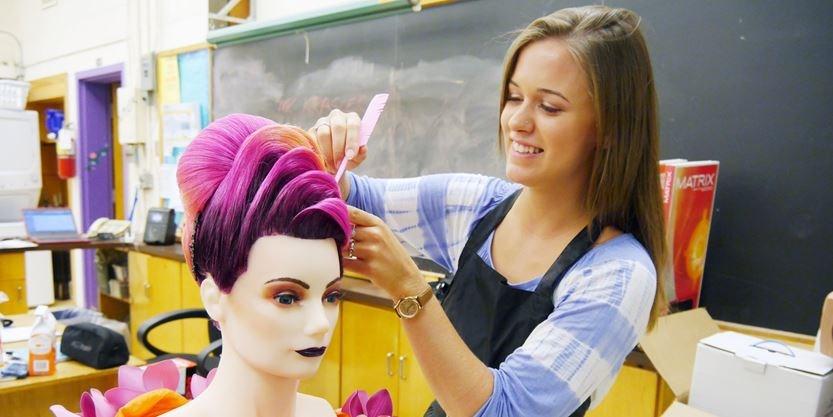 Hairstyling School London