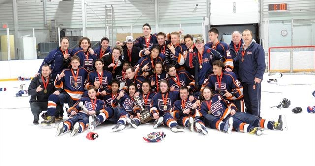 Crusaders And Bulldogs Tops In High School Hockey