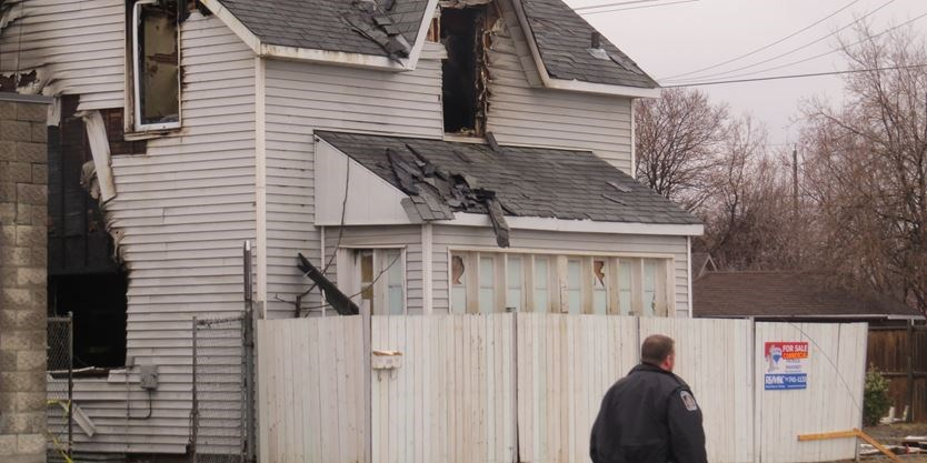 UPDATE -- Police investigate arson after former bikers