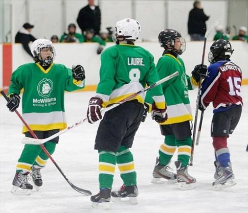 Austin trophies midget hockey team peterborough
