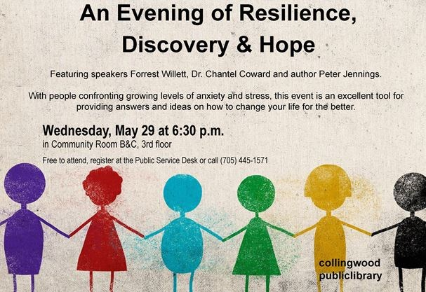 An Evening of Resilience, Discovery and Hope on May 29,2019