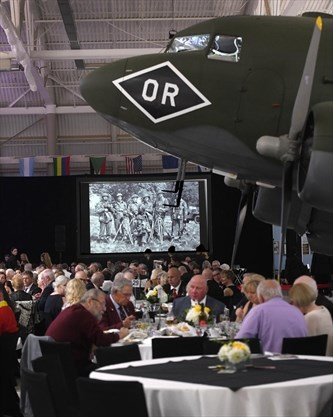 Photos + video: D-Day Gala at Canadian Warplane Heritage
