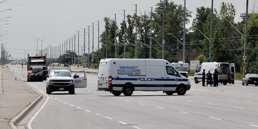 Man dead following vehicle collision on Hwy  50 in Brampton