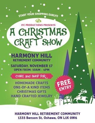 Christmas Craft Show Flyer.Christmas Craft Show On November 17 2018 Toronto Com
