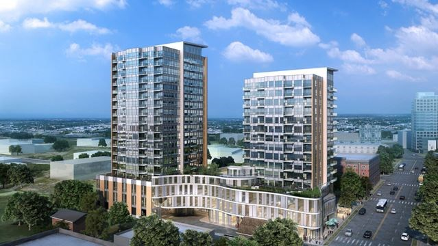 Work Starts On Big One Hundred Condo Project In Downtown