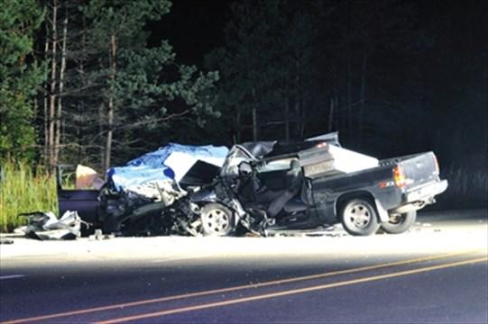 Tragedy unfolds on Highway 10   CaledonEnterprise com