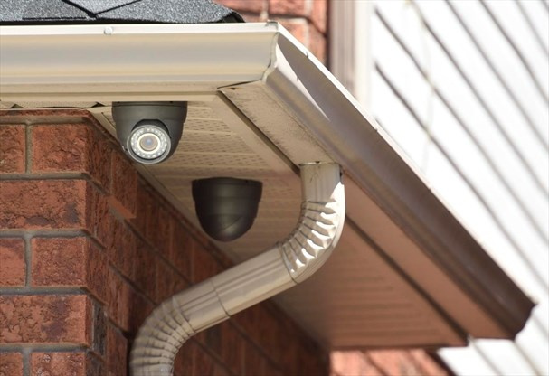 a city bylaw passed in 2010 bans residential security cameras from pointing anywhere other than the homeowners own property - Residential Security Cameras