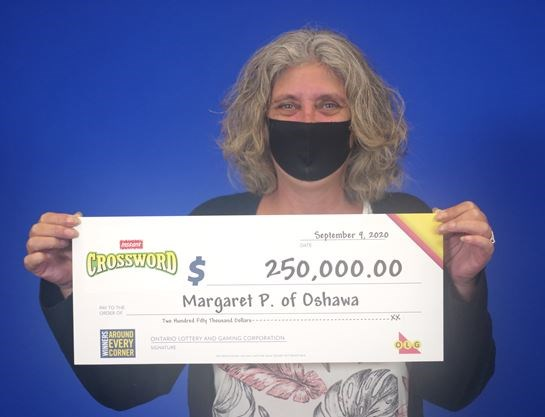 'I was shaking:' Oshawa school bus driver wins $250,000 on Instant Crossword scratcher
