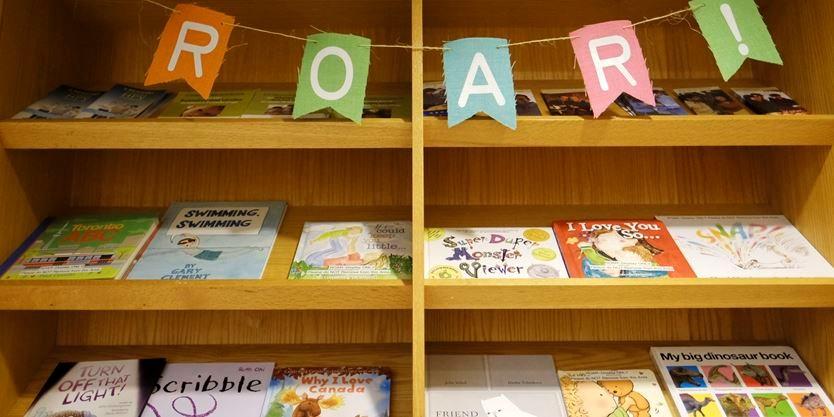 New literacy program kicks off with a ROAR at St  Joseph's