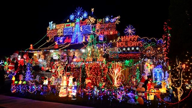 Amazing North York Fundraising Light Display A Harbinger