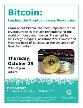 Bitcoin: Leading the Cryptocurrency Revolution on October 25,2018 ...