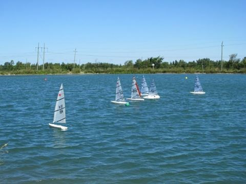 Collingwood welcomes RC Laser boats for regatta | Simcoe com